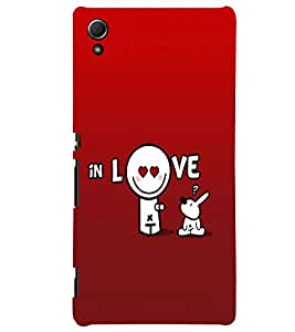 Fuson Love Back Case Cover for SONY XPERIA Z4 - D3964