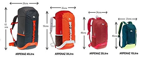 Best quechua backpack in India 2020 QUECHUA Kids Outdoor Backpack Daypack Mini Small Bookbags 10L Image 2