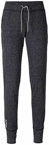 erima Damen Green Concept Jogging Pants Light Jogginghose, Darkgrey Melange, 40 (Weiche Trainingshose Damen)