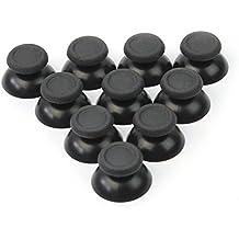 10x Thumbsticks Schwarz Joysticks Joystick Controller Thumbsticks Kappe Caps für Sony PS4