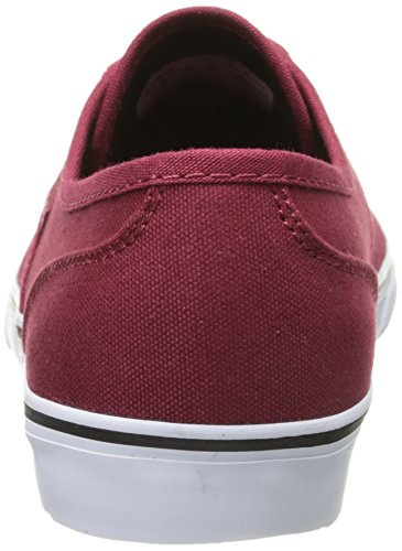Emerica Wino Cruiser, Chaussures de skateboard homme Rouge (Burgundy 602)