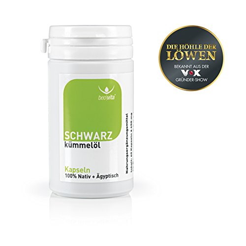 Beovita Schwarzkümmelöl | 60 Kapseln