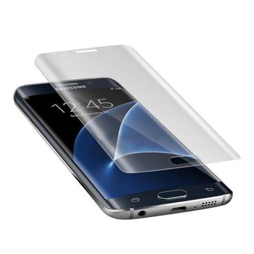 Membrane 3 x Bildschirmschutzfolie kompatibel mit Samsung Galaxy S7 Edge [Kristallklar - 3D Full Screen Curved]