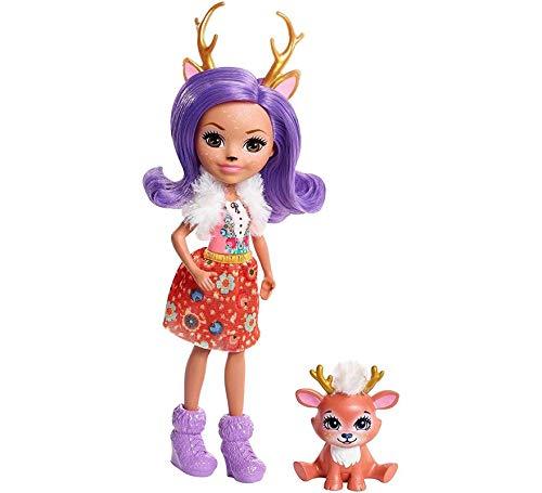 Mattel España, S.A. Muñeca Enchantimals Danessa Deer 15 cm