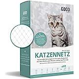 Good-to-have Katzennetz für Balkon und Fenster   8x3m transparent   Balkonnetz inkl. extra Schutz, Montage-Set und eBook