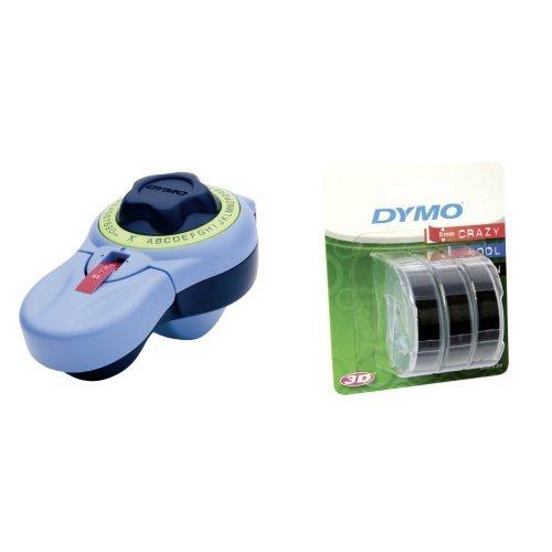 Dymo Set - Junior Prägegerät mit Dymo Prägeband 3er Blister schwarz