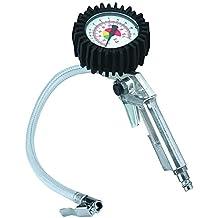 Einhell - Pistola de hinchado de ruedas con manómetro