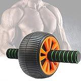 Lolly-U AB Roller Ab Scarpe da Ginnastica, Super Wide Stabile ab Ruote Scooter Antiscivolo Maniglie di stoccaggio Addome Fitness Esercizio Attrezzature per l'esercizio ABS