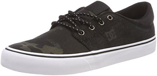 7c8c228f3cb DC Shoes Herren Trase TX SE Skateboardschuhe Schwarz (Camo Black Kco) 46 EU