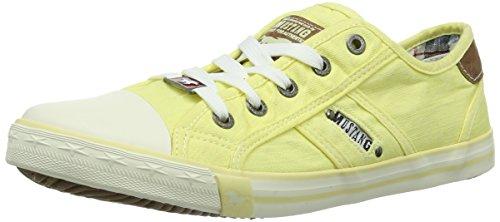 1099-302-610, Damen Sneakers, Gelb (610 pastellgelb), 37 EU