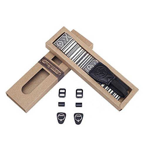 jnb-gurt-fur-kamera-gemustert-schwarzen-und-weissen-schultergurt-halsriemen-handschlaufe-verstellbar