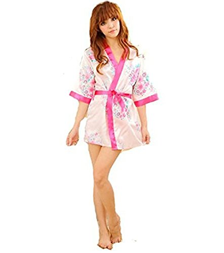 Westeng Pijama Lencería Flores Satén Suave Cordón Encaje Lisa Interior Camisón Ropa Cama Sleeping Wear Nightwear Para Damas Punk Folores,1Pcs