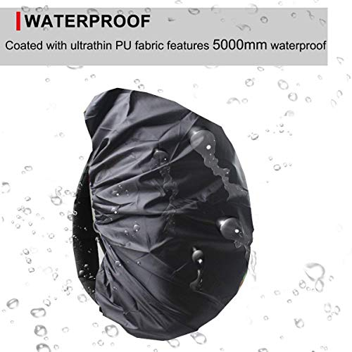41Oaacte JL. SS500  - Frelaxy Waterproof Backpack Rain Cover, 15-90L Rucksack Bag Cover with Upgraded Non-Slip Cross Buckle Strap & Rainproof Storage Pouch & Silver PU Coating, Perfect for Outdoor Activities
