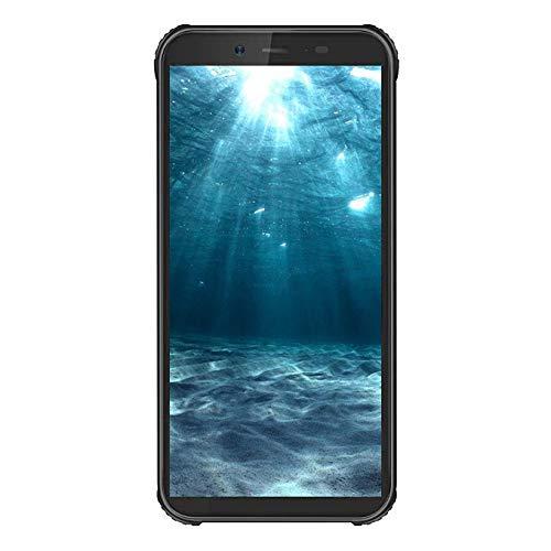 Robustes Handy entsperren, Blackview BV5500 GSM IP68 wasserdichtes Smartphone, Android 8.1 3G Dual-Karte 5,5 Zoll Quad Core 2GB + 16GB, 4400mAh Akku (schwarz) (Tmobile Handy Entsperren Handy)