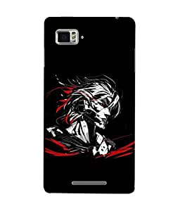 Fuson Designer Back Case Cover for Lenovo Vibe Z K910 (Wild Rock Star Long Hair )