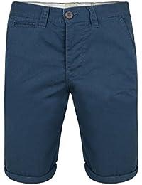 Lee Cooper para hombre Smart Casual algodón chino pantalones cortos de verano