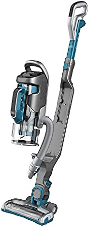 Black+Decker Multipower Pro Cordless 2-in-1 Stick Vacuum with Removeable Hand Vacuum, Blue - CUA525BH-GB