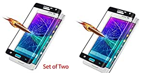 ( Pack of Two ) Combo offer for Full Screen Two Anti-scratch Laser-cut tempered glass Protectors with Curved Edge, Cover Edge-to-Edge, Protect Your Phone from Drops & Impacts, HD Clear, Bubble-free Shockproof It's pressure-resistant & delivering an outstanding durability for your Smart Phone - Samsung Galaxy Grand Neo
