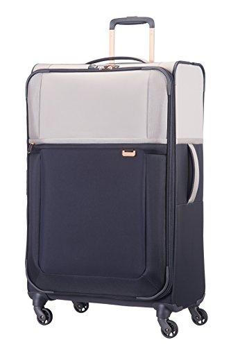 Samsonite Uplite Spinner 78/29 Erweiterbar Koffer, 78 cm, 122 Liter, Pearl/Blau