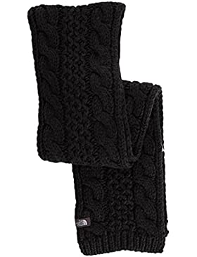 The North Face Cable Minna Scarf - Bufanda unisex, color negro, talla OS
