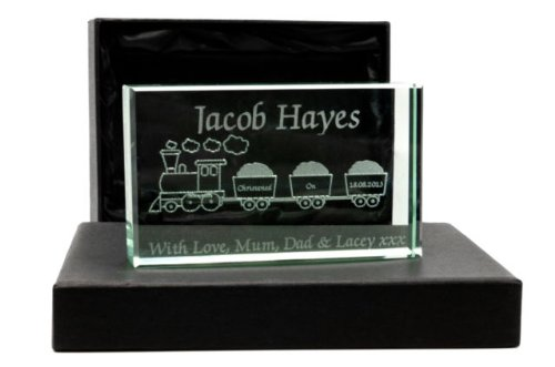 personalised-childs-train-design-glass-christening-birth-gift-laser-engraved-free