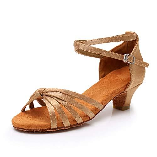Bambine scarpe sandali ballo scarpe  premio anti scivolo con tacco scarpe da ballo latino - scarpe da principessa | ballroom sala - 4-15 anni prima infanzia ragazza - serie 1