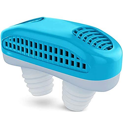 Nase Vents Plugs - Nasen Vent Mute Nasendilatatoren Schlafhilfe Clip Device Solution Für Komfortablen Natürlichen Schlaf Für Mann Frau Kids - Stop Mund Atmen, 5-Pack,Blue -