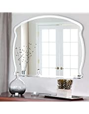 Quality Glass Glass Mirror For Wall (18 x 24 inch, Silver)
