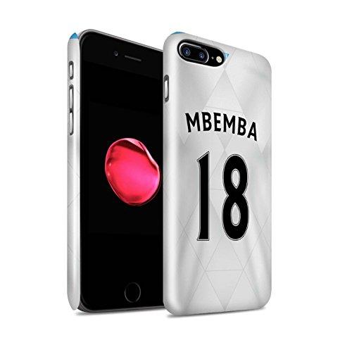 Officiel Newcastle United FC Coque / Clipser Brillant Etui pour Apple iPhone 7 Plus / Townsend Design / NUFC Maillot Extérieur 15/16 Collection Mbemba