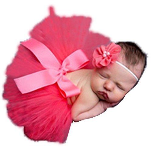 Yoliki Baby Foto Kostüm Neugeborenes Baby Rock Tutu Kleidung Trikot Prop Outfits Bekleidung (Kostüme Mädchen 50)