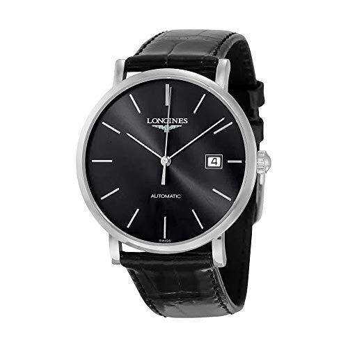 Longines Reloj Analógico para Hombre de Automático con Correa en Cuero L49104722