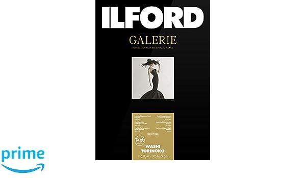 ILFORD GALERIE Prestige Washi Torinoko 110 gsm A3+ 329 mm x 483 mm 25 Blatt