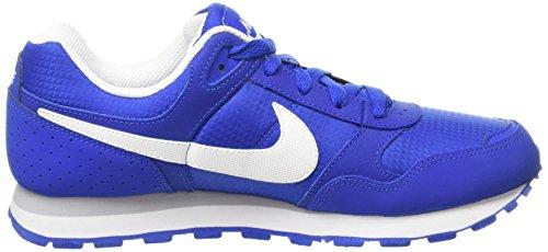 Nike  MD Runner BG,  Jungen Sneakers Blau/Weiß