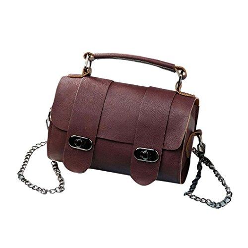 Transer Artificial Leather Handbags & Single Shoulder Bags Women Zipper Bag Girls Hand Bag, Borsa a spalla donna Multicolore Gold 20cm(L)*13(H)*8cm(W), Wine (Multicolore) - CQQ60901350 Wine
