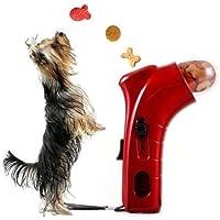 Takestop® - Juego de adiestramiento para perros y gatos - Lanzador de premios/golosinas/galletas - Color aleatorio
