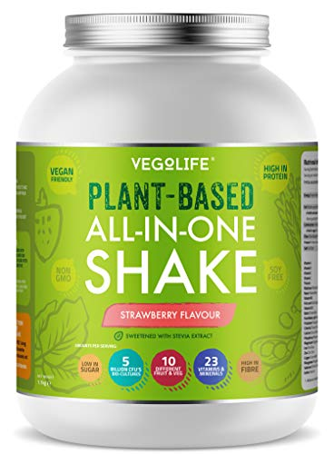 Vegan Protein Powder 1 1kg All In One Vegan Meal Replacement 23 Vitamins Minerals 10x Fruit Veg Bio Cultures Uk Made Naturally