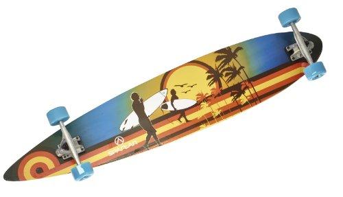 Longboard Sportbanditen Surfs Up 46'' ABEC 7