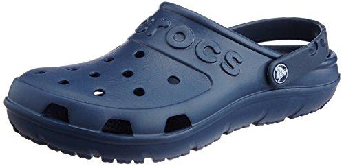 Crocs Hilo Sabot U, Zoccoli e sabot, Unisex - adulto, Blu (Nav), 43-44