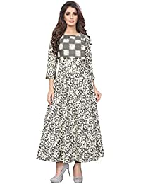 1 Stop Fashion Women's Cotton Anarkali Kurta