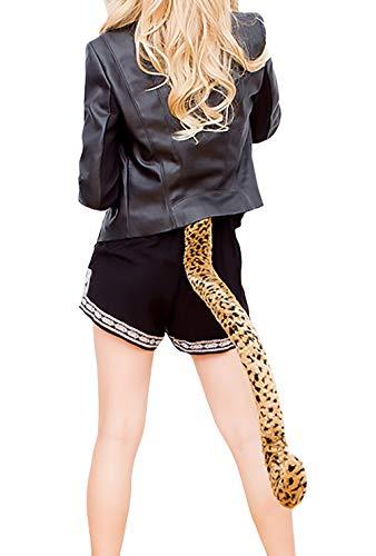Halloween Kostüme Damen Cosplay Outfit Katze Schwanz Einstellbar Mädchen Kleidung Hübsch Schweifanhänger ()