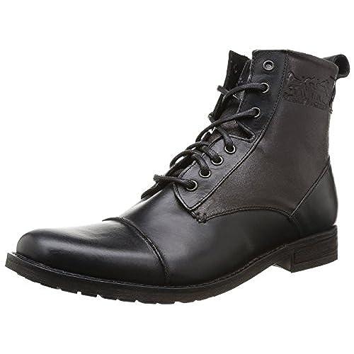 Clarks Originals Desert Boot, Boots homme - Noir (Black), 45 EU (10.5 UK)
