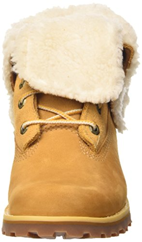 Timberland Unisex Kids    6 in Wp Shearling Bo Turtleneck Shoes  Wheat  6 5 UK