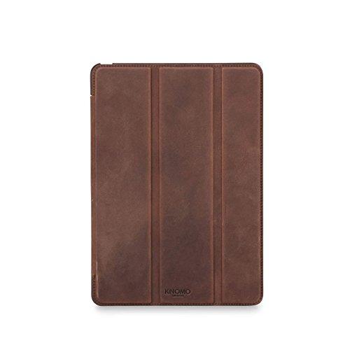 """Preisvergleich Produktbild Knomo Unisex-Erwachsene New 2017 Tri Fold iPad Pro 9,  7"""" Folio Laptop Tasche (Braun),  0.47x17.8x24.5 cm"""