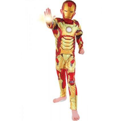 Iron Man 3 - Rächer - Kinder-Kostüm - Medium - ()