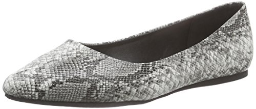 Another Pair of Shoes Beatris E3 - Ballerine Donna Multicolore (Black/White 203)
