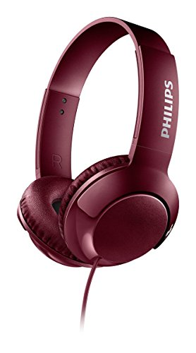 Philips On-ear headphones SHL3070RD/00 Red