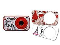 Teknofun PARIS FASHION Digital Camera with 3 Interchangeable Faces (3 MP)