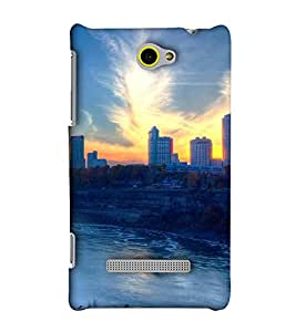 EagleHawk Designer 3D Printed Back Cover for HTC Windows Phone 8S - D781 :: Perfect Fit Designer Hard Case