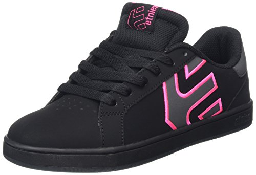 Etnies Damen Fader Ls Skateboardschuhe, Schwarz (Black/Dark Grey560),37.5 EU(4.5 UK)
