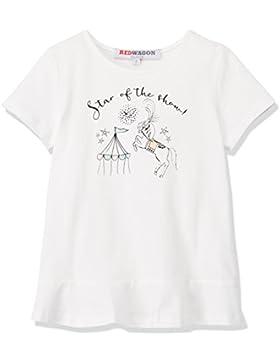 [Sponsorizzato]RED WAGON T-Shirt con Volant Bambina